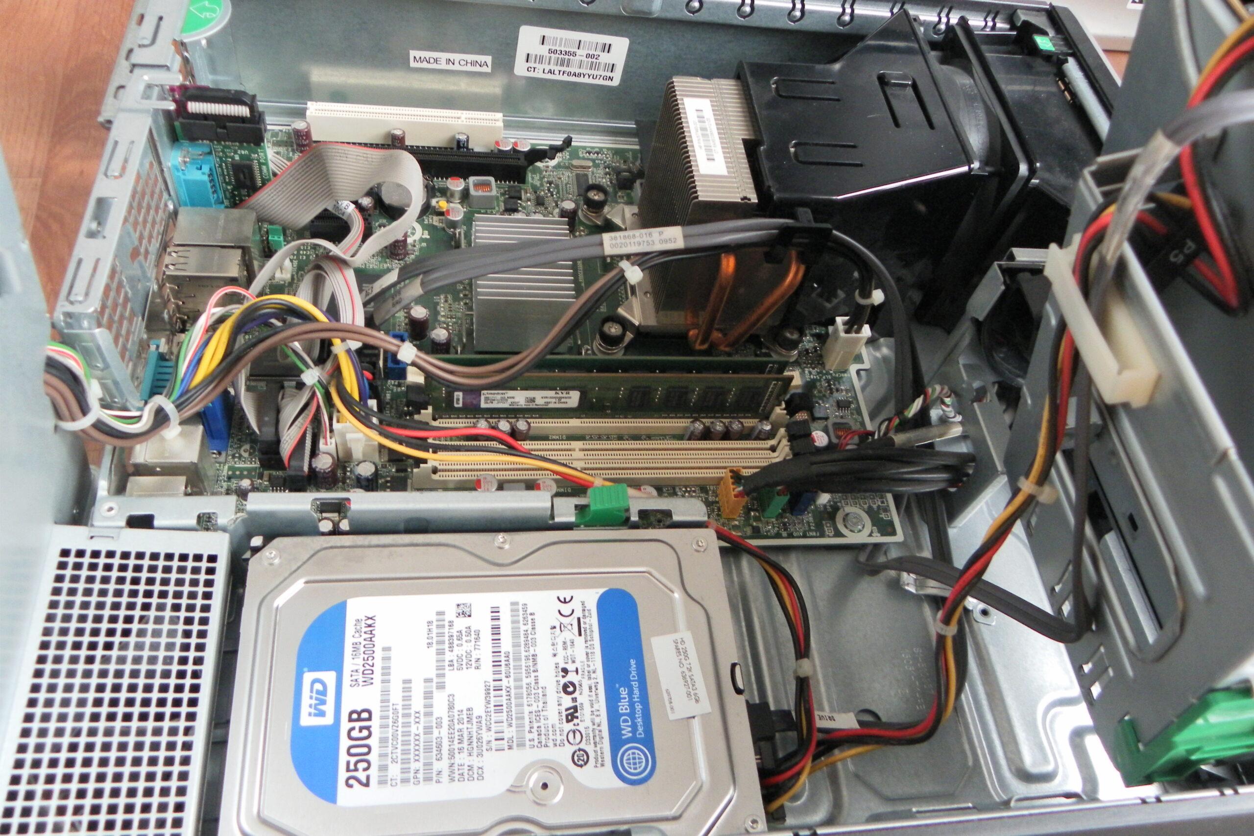 Potenziamento HP Compaq 8000 Small From Fedor